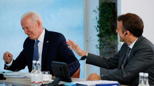Emmanuel Macron et Joe Biden se sont de nouveau entretenus au téléphone