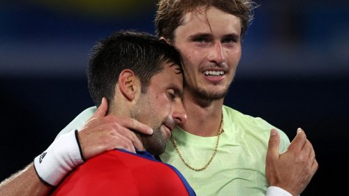 VIDEO. JO 2021 - Tennis : le résumé de la victoire d'Alexander Zverev sur Novak Djokovic
