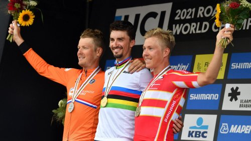 """Mondiaux de cyclisme : """"Julian Alaphilippe a gagné en étant ce qu'il est, un coureur extraordinairement généreux"""", souligne Christian Prudhomme"""