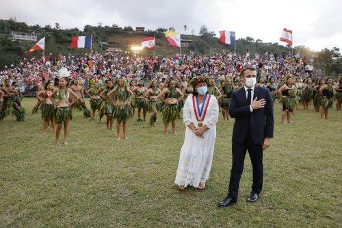 Emmanuel Macron, premier président de la République à se rendre aux Îles Marquises - Outre-mer la 1ère
