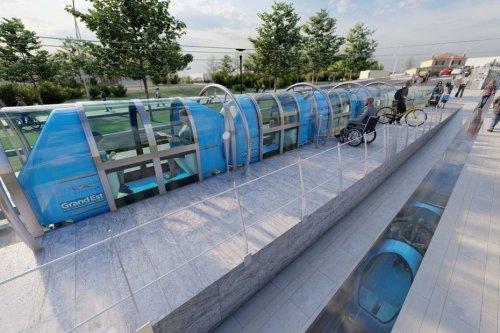 Nancy : Urbanloop aux Jeux Olympiques Paris 2024 avec ses capsules 100% électrique, sans batterie, pilotées par une IA