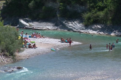 Week-end estival dans la Drôme : les vacances avant l'heure au bord de l'eau