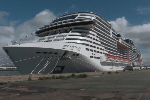 Tourisme : dans le port du Havre, le MSC Virtuosa se prépare pour son premier voyage
