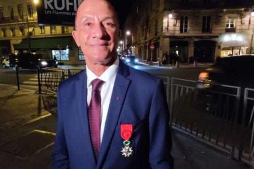 Rodolphe Alexandre promu au grade d'officier de la Légion d'honneur par Emmanuel Macron - Guyane la 1ère