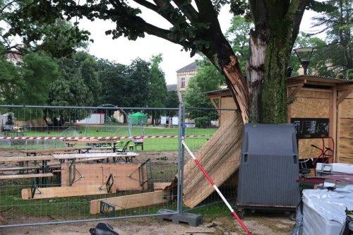 INTEMPERIES. Chalon-sur-Saône : les dégâts après la tempête