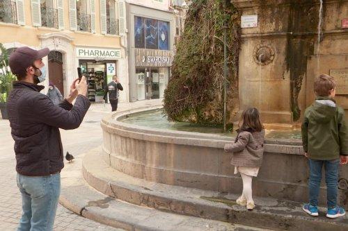 À découvrir dans le Var : la fontaine de la place Puget à Toulon