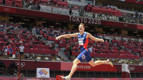 VIDEO. JO 2021 - Athlétisme : médaille d'or et record du monde pulvérisé pour Karsten Warholm sur 400 mètres haies