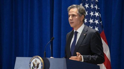 """Crise des sous-marins : la réconciliation avec la France """"prendra du temps et beaucoup de travail"""", reconnaît le chef de la diplomatie américaine"""
