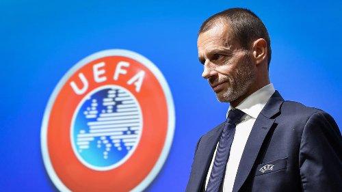 Super Ligue : 'une proposition honteuse' de clubs 'uniquement guidés par l'avidité' dénonce le président de l'UEFA