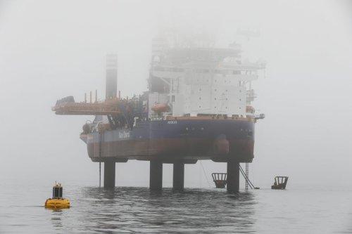 Pollution maritime en baie de Saint-Brieuc. L'huile rejetée en mer est biodégradable selon Ailes Marines