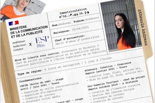 Insolite : une étudiante de Tours reçoit des centaines d'offres d'alternance après un CV devenu viral