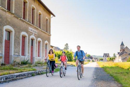 Indre-et-Loire : ouverture des 26km de la Voie Verte en Sud Touraine pour cyclistes et randonneurs