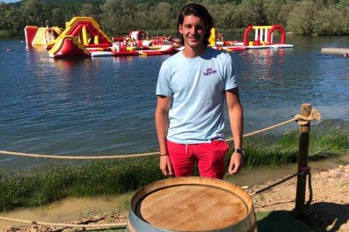 Pont-à-Mousson : à 22 ans seulement, il inaugure le Grand Bleu Wake Park, un nouveau parc aquatique