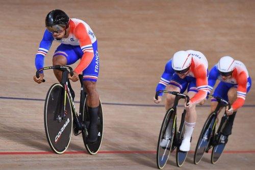 Cyclisme de vitesse sur piste par équipe : trois Franciliens permettent à la France de décrocher le bronze aux JO
