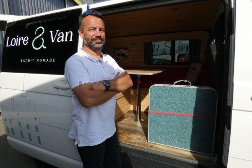 De contrôleur SNCF à loueur indépendant de vans aménagés, l'entreprise de cet Orléanais cartonne