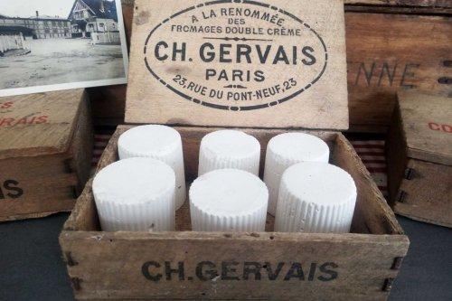 L'histoire du dimanche - Le petit-suisse, produit par Charles Gervais dès 1852, est né à Villers-sur-Auchy dans l'Oise