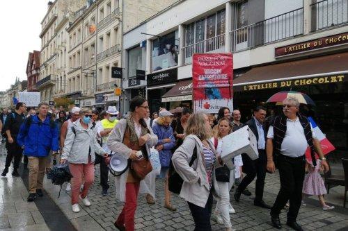 """Manifestations contre le pass sanitaire en Normandie : """"J'aurais préféré un autre confinement"""", estime un opposant"""