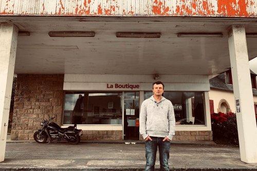 PORTRAIT. Il vend des vinyles dans une ancienne station-service des Monts d'Arrée