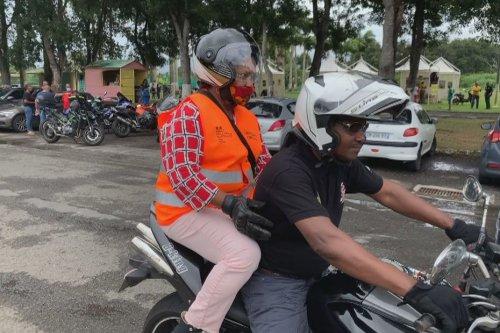 «Automobiliste motards d'un jour », une opération pour apprendre à vivre ensemble sur nos routes - Guadeloupe la 1ère