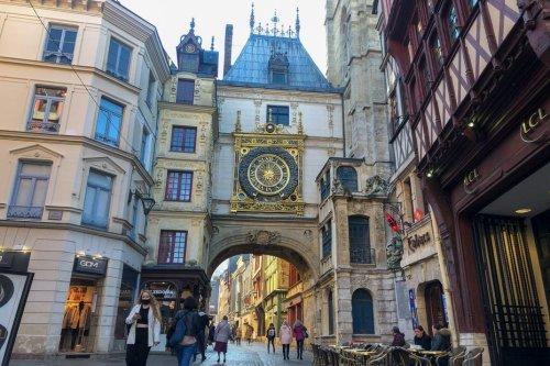 """À Rouen, """"la rue du Gros Horloge, c'est devenu les Champs Elysées"""""""
