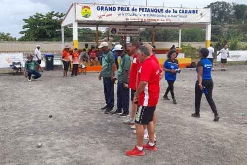 Pétanque : 30e édition du Grand Prix de la Caraïbe à Saint-Pierre - Martinique la 1ère