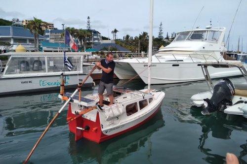 Yann Quenet et son Baluchon sont repartis pour leur tour du monde - Nouvelle-Calédonie la 1ère