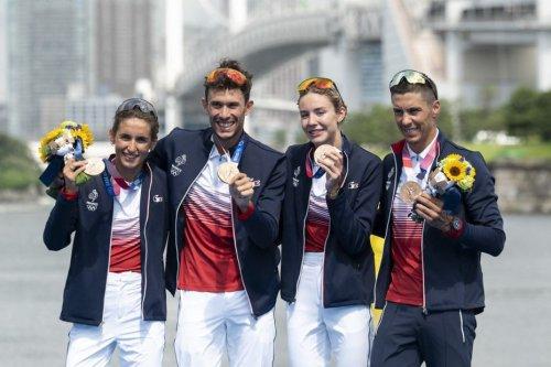 Jeux Olympiques de Tokyo 2021 : Vincent Luis, médaillé de bronze avec le relais mixte en triathlon