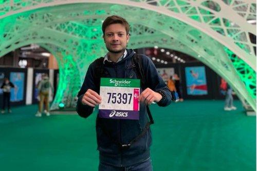 Marathon de Paris : greffé des poumons, Alexandre Allain a couru les 42 km en 5 heures et 30 minutes