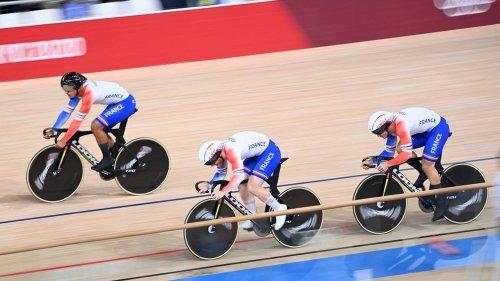 JO 2021 - Cyclisme sur piste : les Français en bronze sur la vitesse par équipes