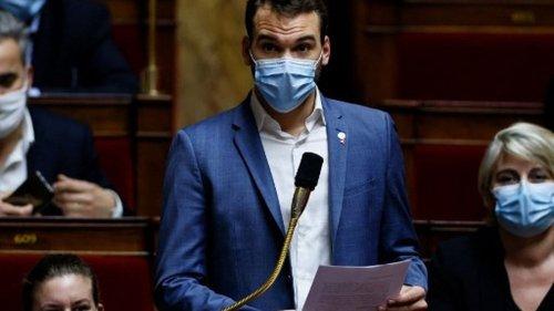 """Covid-19 : le nouveau protocole sanitaire au collège et au lycée, un """"scandale"""" pour le député LFI Ugo Bernalicis"""