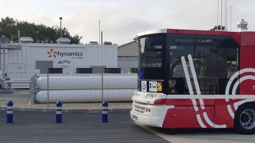 À Auxerre, une station à hydrogène permet de faire rouler cinq bus du réseau