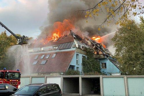 Mulhouse : deux blessés légers dans l'impressionnant incendie d'un immeuble