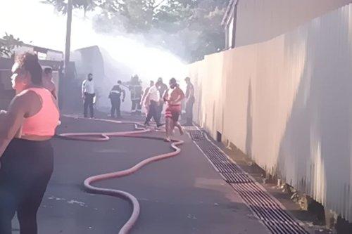 Arue : trois maisons ravagées par les flammes - Polynésie la 1ère