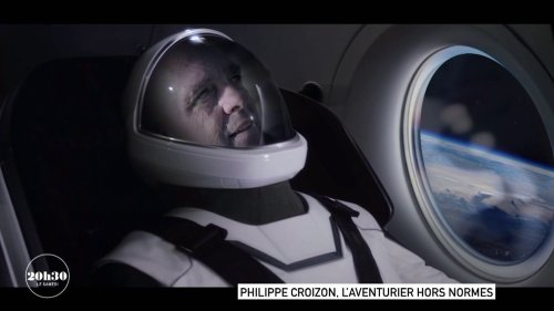 VIDEO. Portrait de Philippe Croizon, l'aventurier français qui rêve d'être le premier handicapé à partir dans l'espace grâce à Elon Musk
