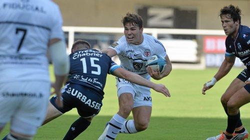 Top 14 : Toulouse s'en sort à 13 à Montpellier, Biarritz surprend le Racing, le LOU dynamite Perpignan