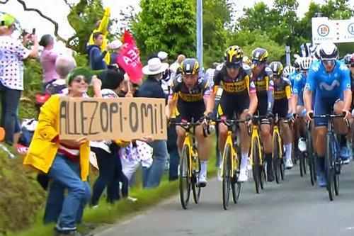 Tour de France : 4 mois de prison avec sursis requis contre la spectatrice à l'origine d'une chute massive