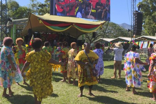 L'indépendance du Vanuatu célébrée - Nouvelle-Calédonie la 1ère