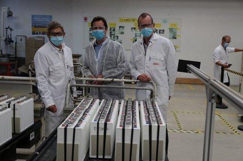 Nickel : à Bordeaux, la grande usine SAFT fabrique les batteries électriques (Nickel-MSX) de la transition énergétique - Nouvelle-Calédonie la 1ère