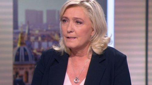 """Présidentielle 2022 : """"je vais gagner cette élection"""", affirme Marine Le Pen sur le plateau de France 2"""