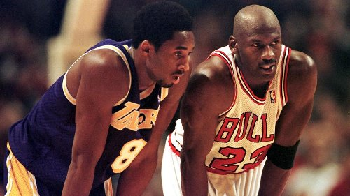 NBA: Kobe Bryant sera introduit au Hall of Fame par Michael Jordan