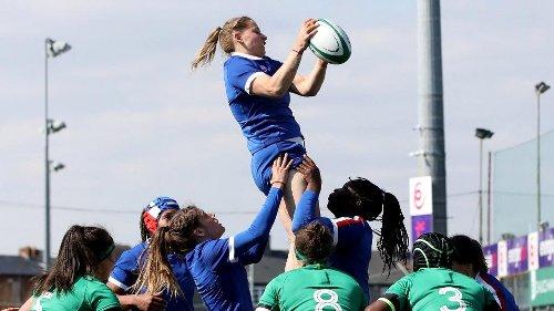 Tournoi des Six Nations féminin : Les Bleues ne laissent aucune chance à l'Irlande et se qualifient pour la finale