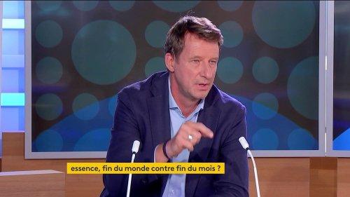 Primaire écologiste : Yannick Jadot propose de réinstaurer la taxe intérieure de consommation sur les produits pétroliers
