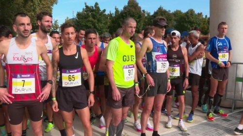 Vincent Delion, athlète malvoyant, boucle le semi-marathon de Niort