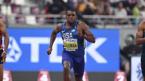 Dopage: suspension réduite pour le sprinteur américain Coleman, mais pas suffisamment pour participer aux JO