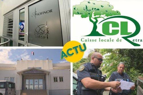 SMSP, caisse locale de retraite, justice et sécurité : l'actu à la 1 du mercredi 19 mai 2021 - Nouvelle-Calédonie la 1ère