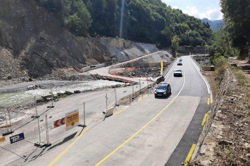 Alpes-Maritimes : détruit par la tempête Alex, le pont de Pertus à Breil-sur-Roya devient le premier pont reconstruit