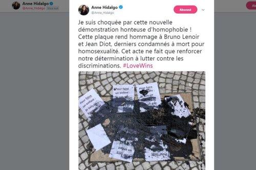 Paris : un homme en garde à vue après la dégradation homophobe d'une plaque commémorative