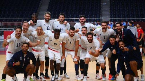 """VIDEO. JO 2021 : """"C'est magnifique, je suis heureux"""", la réaction de Karabatic et des Bleus, qualifiés pour la finale"""