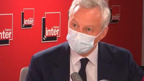"""VIDEO. Croissance : Bruno Le Maire salue """"une performance exceptionnelle de l'économie française"""""""