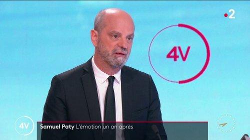VIDEO. Assassinat de Samuel Paty : 98 incidents recensés lors des hommages dans les établissements scolaires, annonce Jean-Michel Blanquer